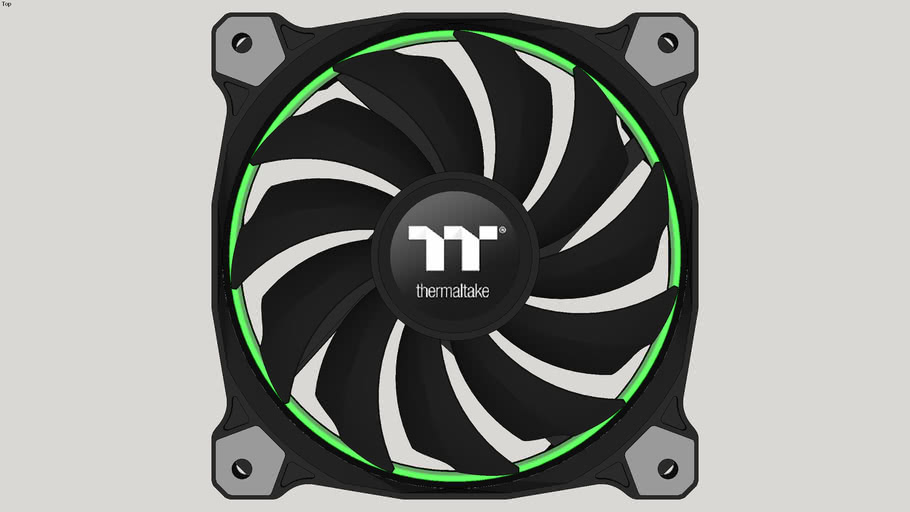 Thermaltake Riing 12 RGB Radiator Fan TT Premium Edition - Verde