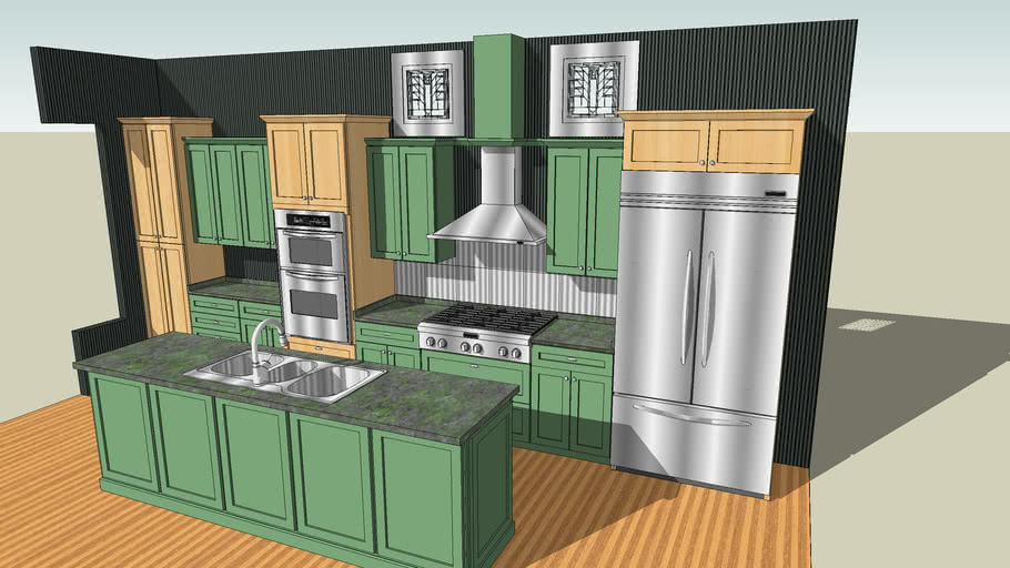 sketchup model of ....House