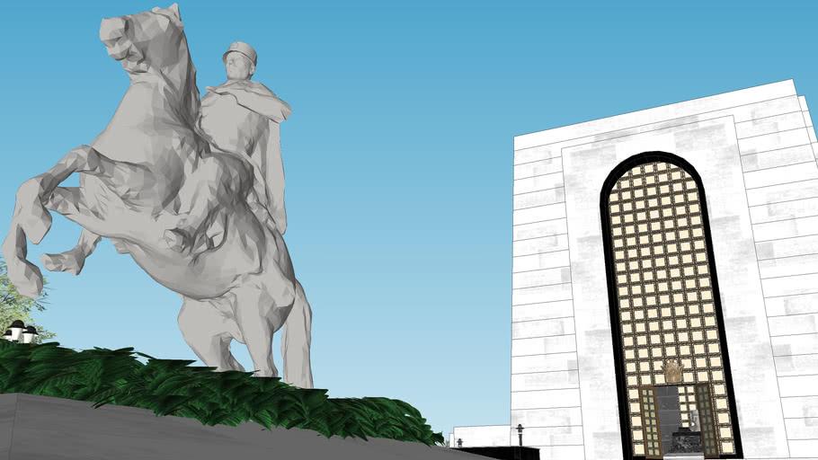 Foundation for the Tomb of Reza Shah the great  بنیاد ساختمان آرامگاه رضا شاه بزرگ