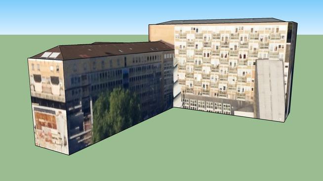 Bygning i Dortmund, Tyskland
