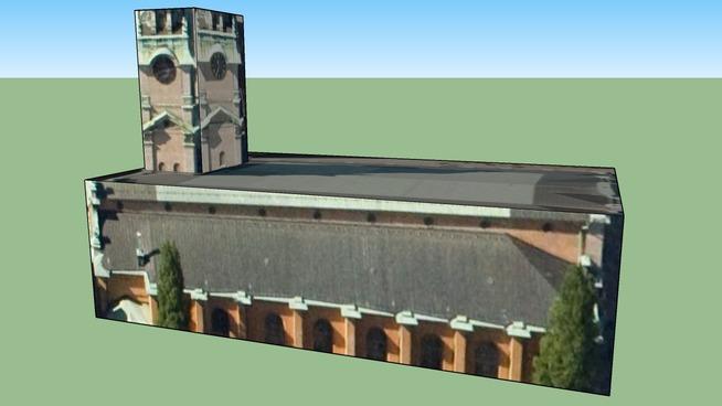 Byggnad på Stockholm, Sverige,storkyrkan