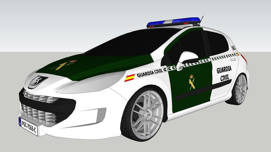 Peugeot 308 Guardia Civil