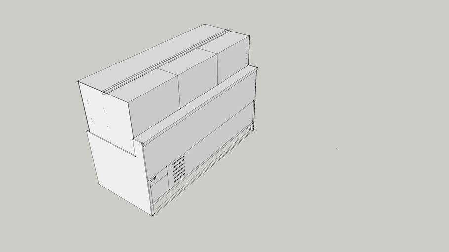 med. display case