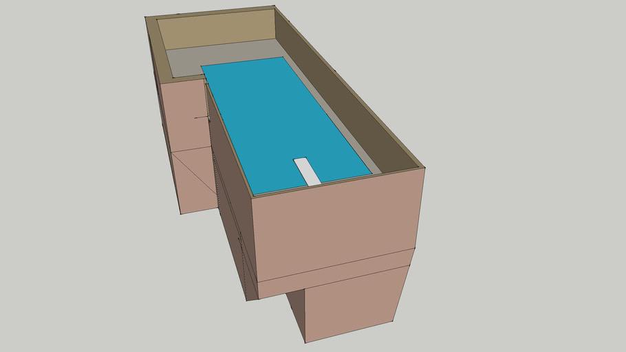 Pool w/wall