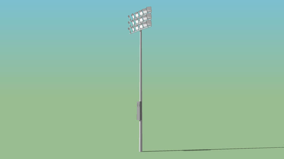 FlatBoard Series® LED Sporting Field Flood Lighting - UPDATED