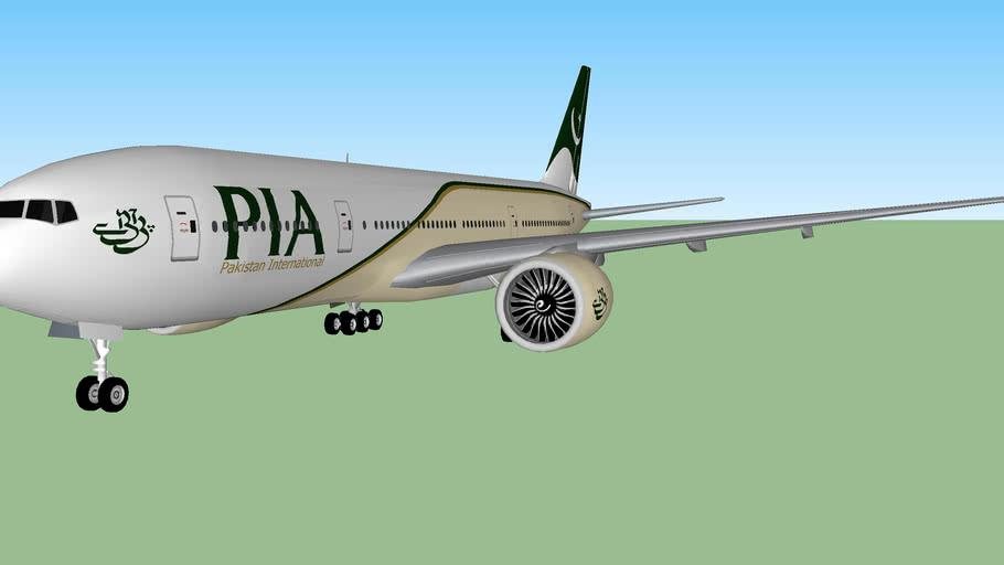 Pakistan International Airlines 777-200LR