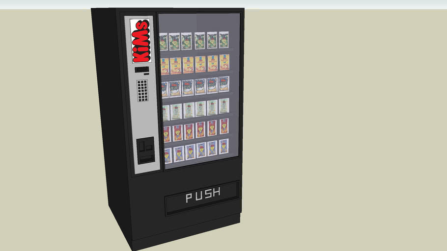 Snackautomat -- Made by sketchUpboys