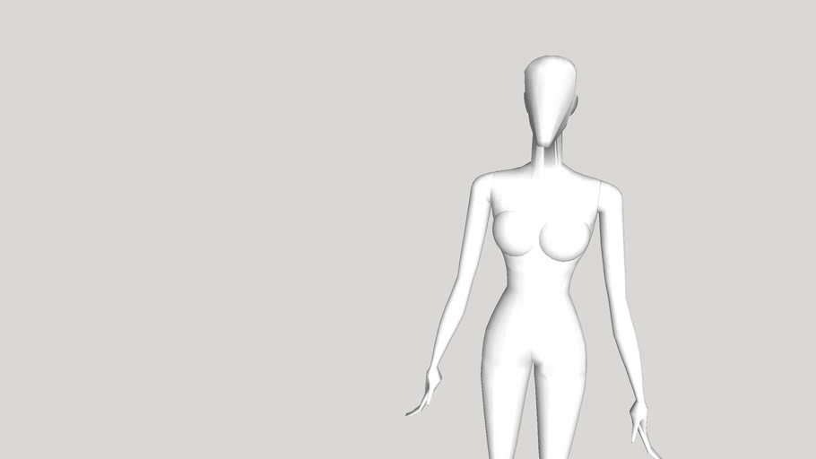 Abstract Cyber Mannequin - Alexa