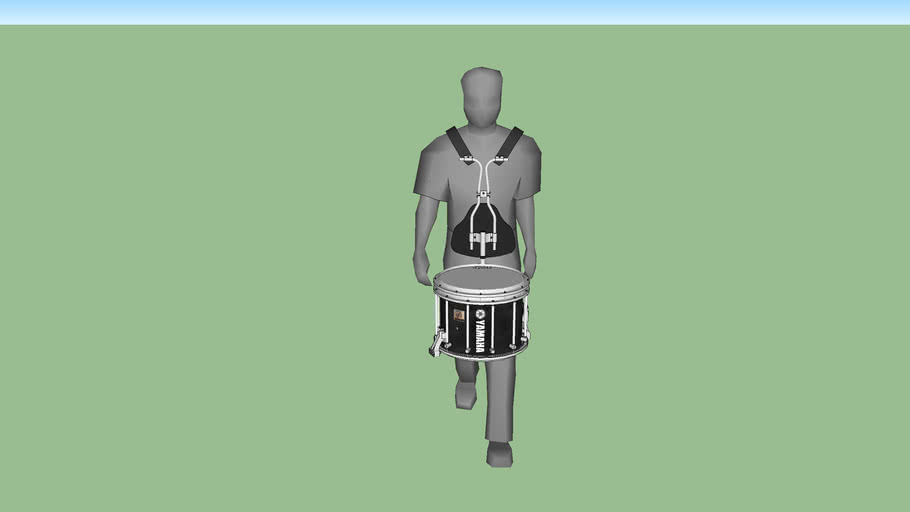 Marching Man (With Marching Snare Drum)
