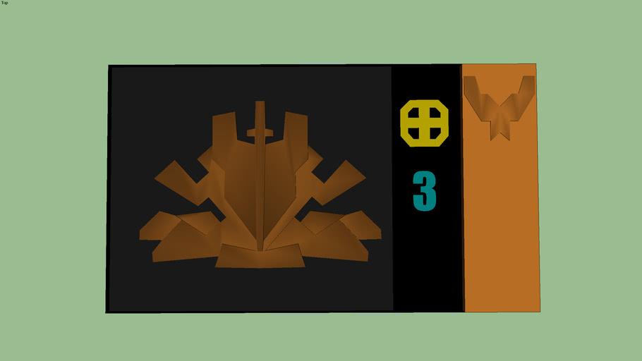 Support Service Badge Bronze