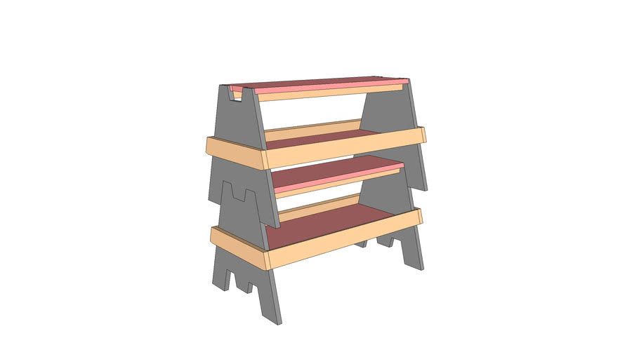 Saw Horses (Stackable)