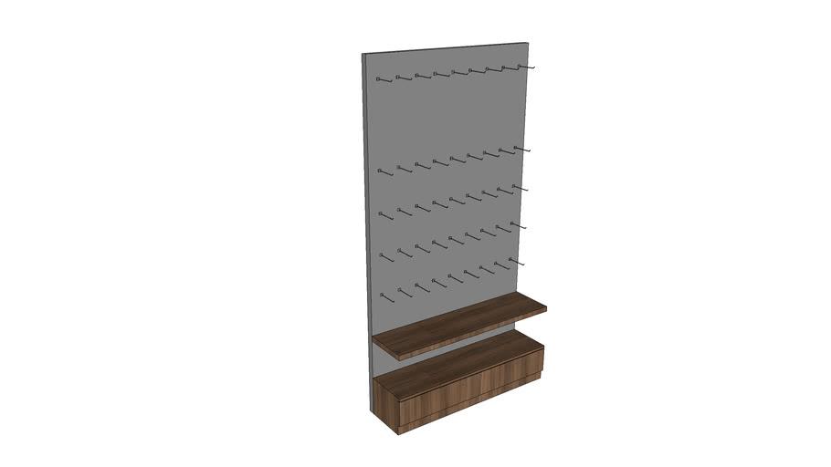 Tủ giày 13 - Shoes Cabinet 13
