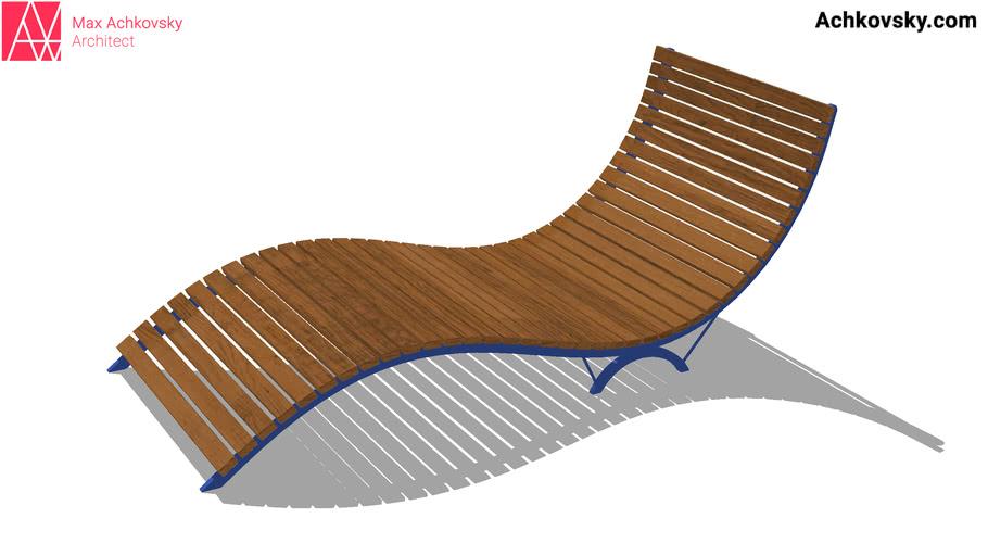 Sunbed, chaise longue