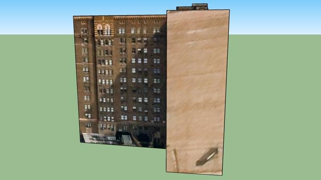Строение по адресу Детройт, MI, USA