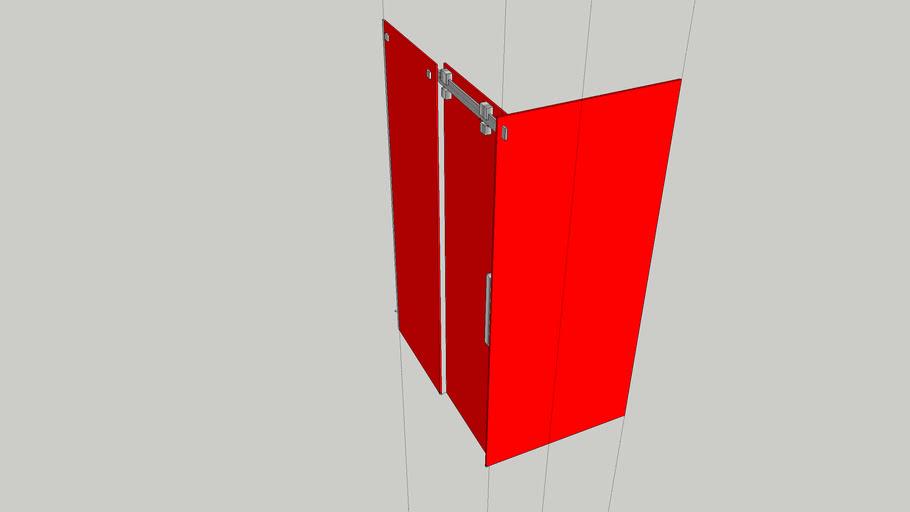 Solet/Solid 1200x900 enclosure Q/C 17979-18004 KVK