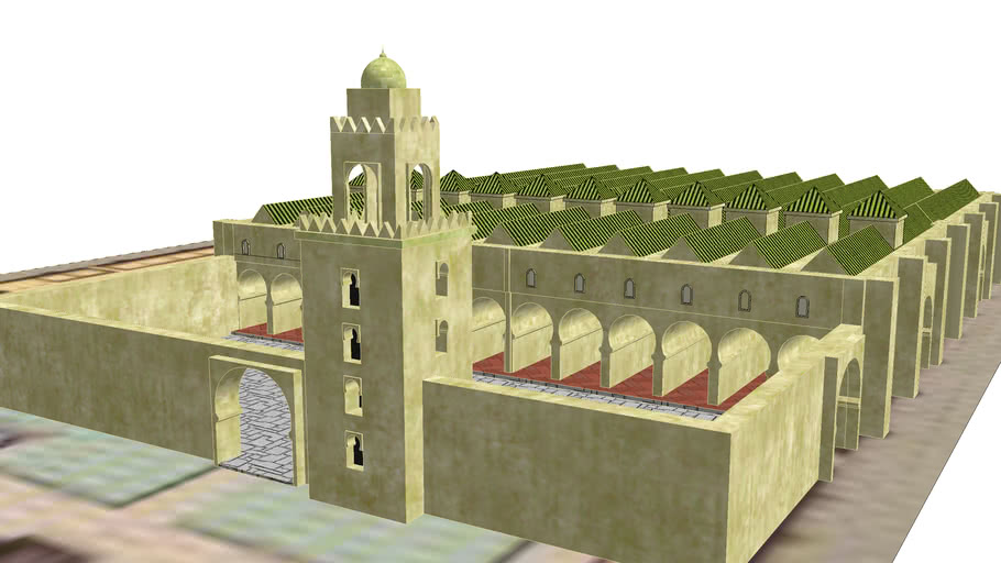 great mosque of cordoba: original layout