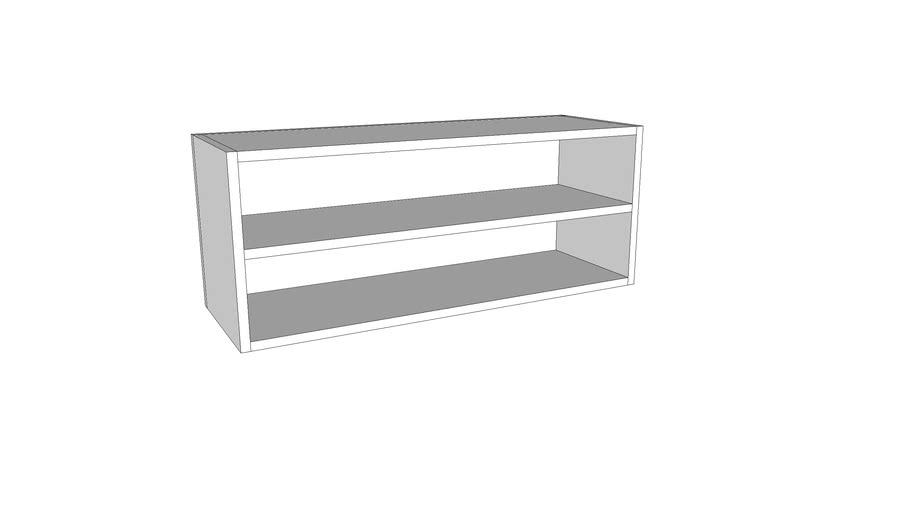 Otvoreni horizontalni gornji element - 90 cm - visina 36 cm