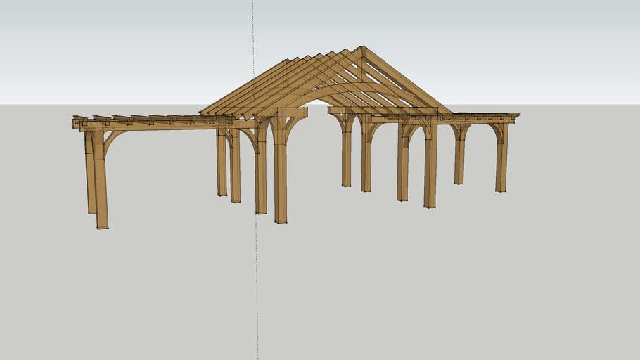 Timber frame Cabana