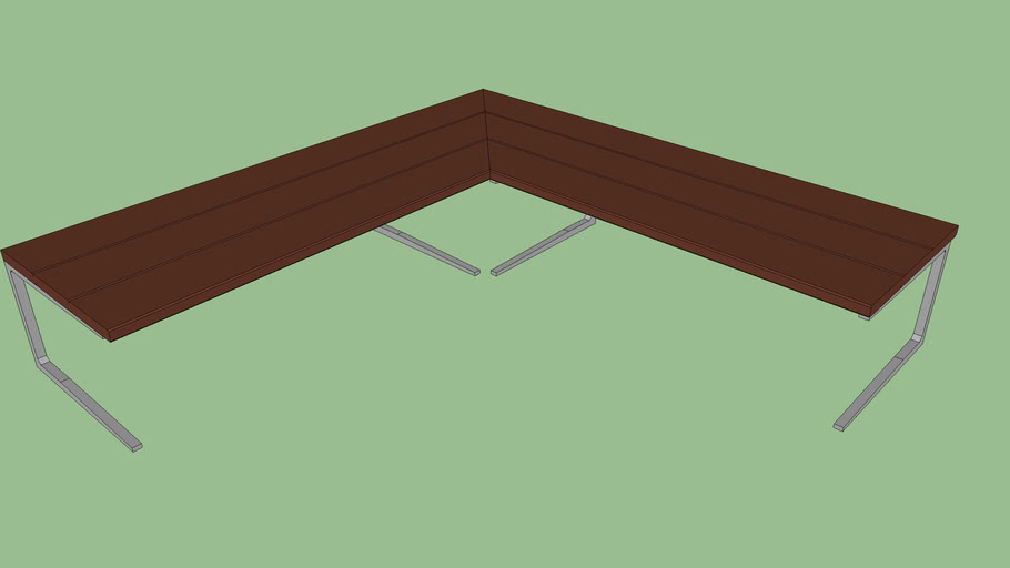 1.5m section of bench