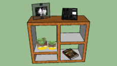 Mesas de canto, aparadores e pequenos armários