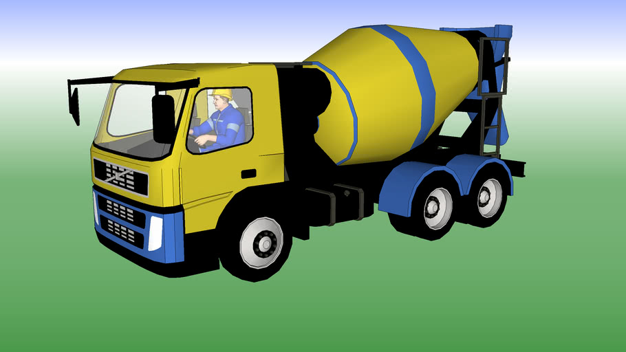 ORLANDINI MASSIMO TRUCK FOR CONCRETE TRANSPORT#CONSTRUCTION OF PILLARS, WALLS, BEAMS