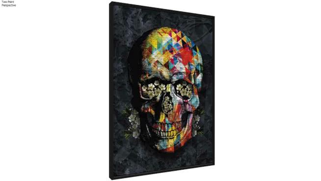 Quadro Skull Colours I