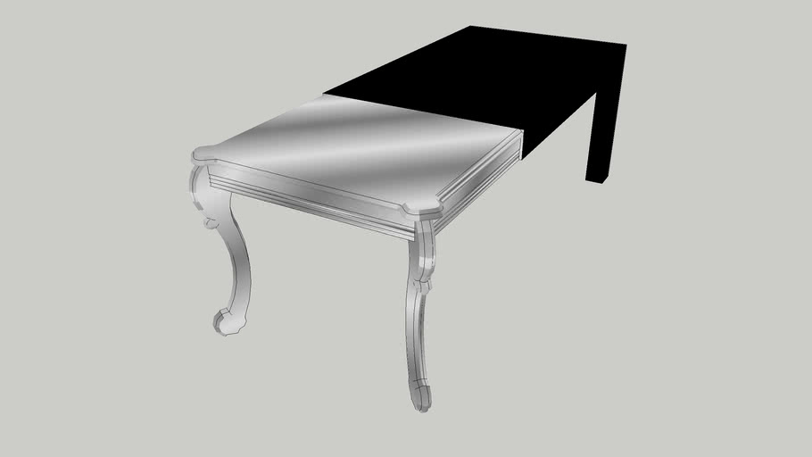 22610 Table Janus Black 220x90 (selected by Geissini)