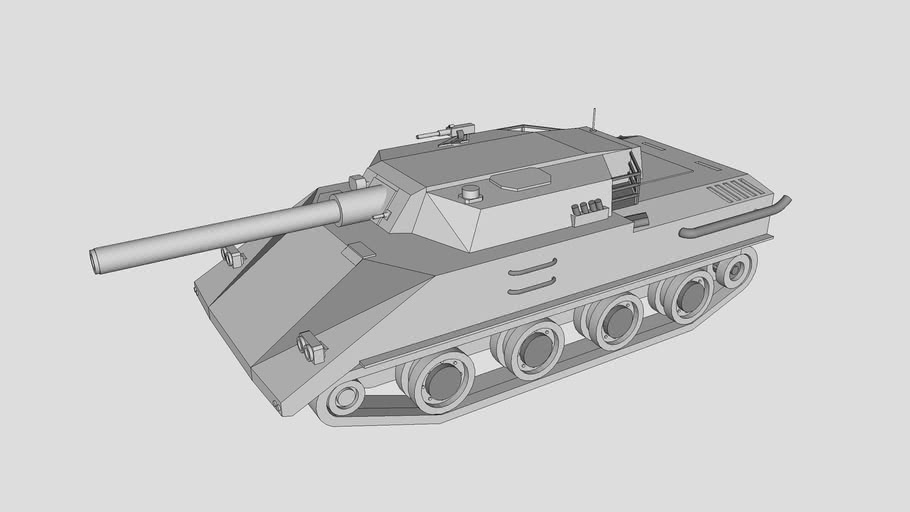Low Cost High Mobility Light Battle Tank  低成本高速轻型战斗坦克设计