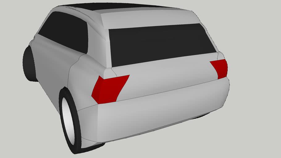 New Mombasa Car (white)
