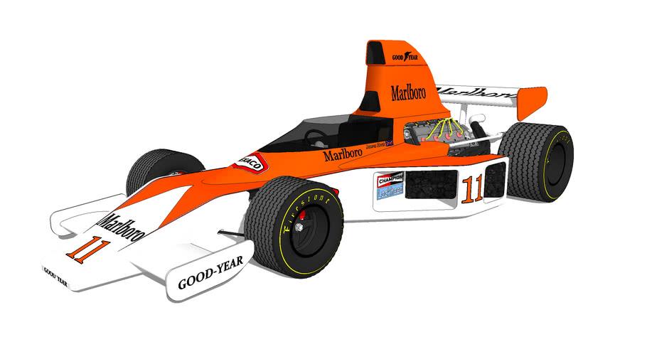 1976 McLaren M23 driven by ' James Hunt '