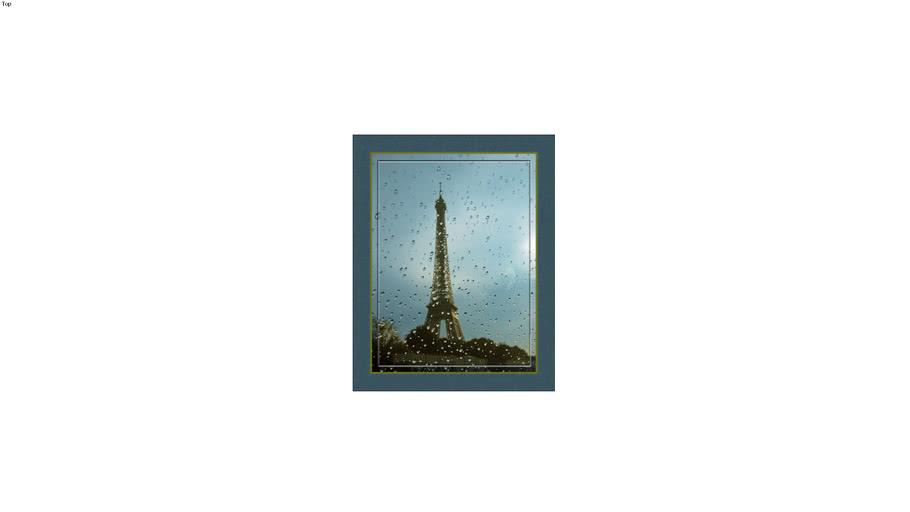 Eiffel Tower, Framed