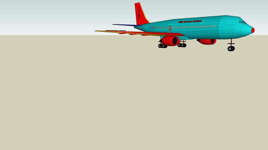 MNS Armour's Multi- Million Pound Jet Propelled Aeroplane!!