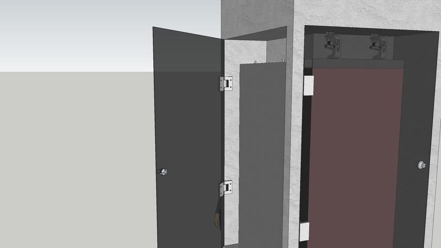 pillar with led screen