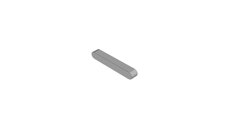 06280222 Parallel keys DIN 6885 A3x3x22