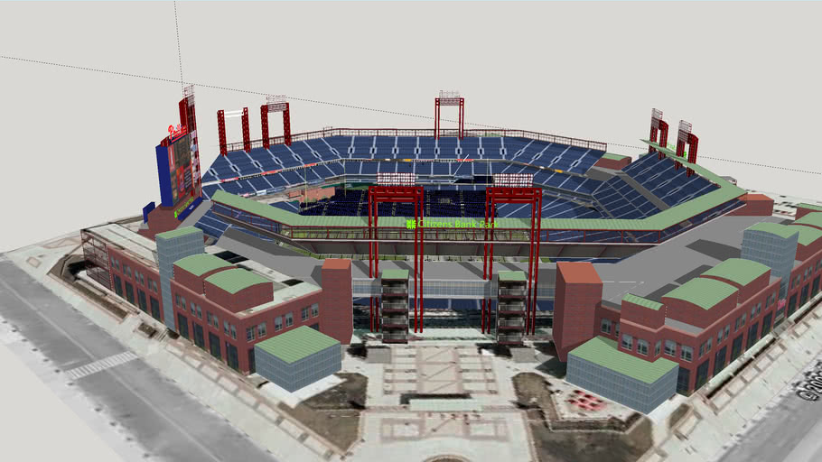 Citizens Bank Park Expansion for Football