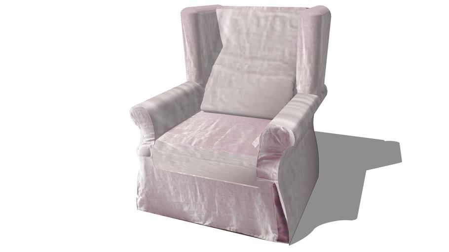 housse COTTAGE rose pâle, Maisons du monde. Réf: 124699 prix 89€