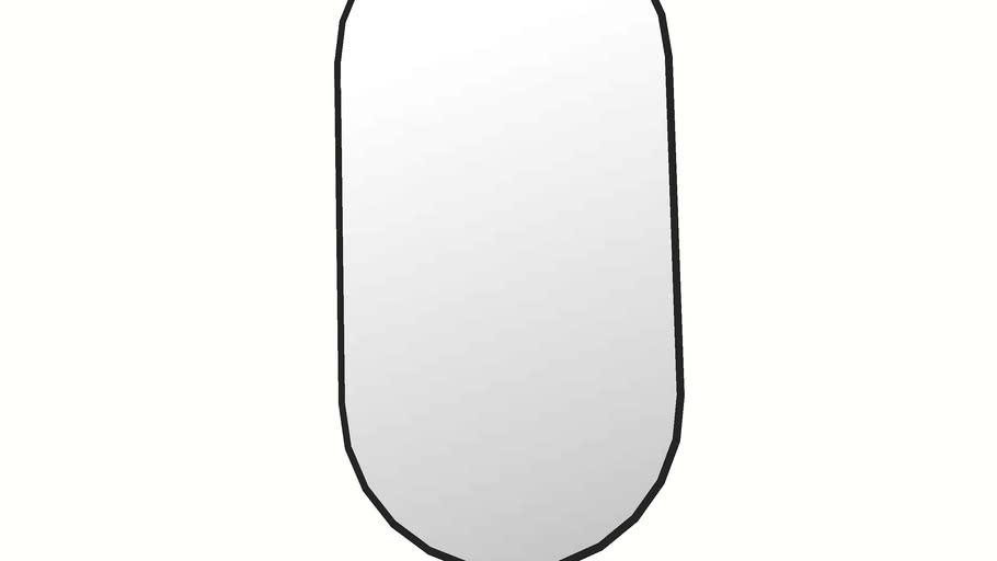 LINDBYN ikea oval mirror