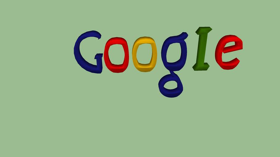 Logo 3D Google
