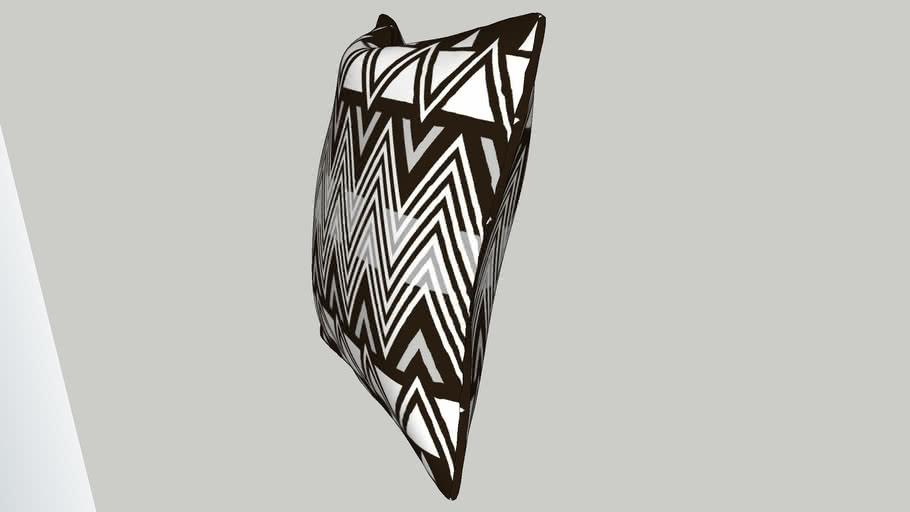 Contemporary cushion geometric