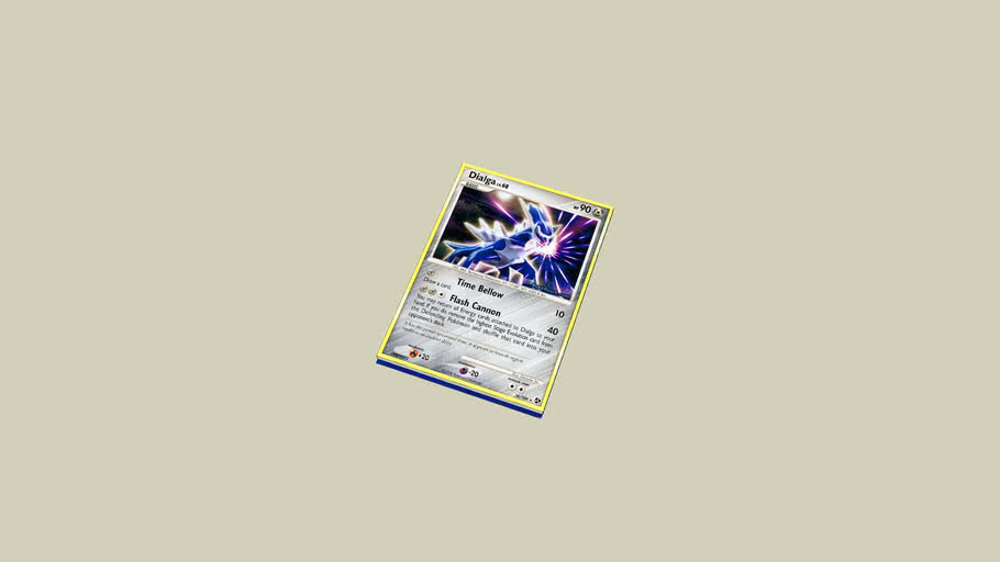 Dialga pokemon card