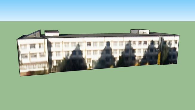 お茶の水女子大学附属高等学校 校舎