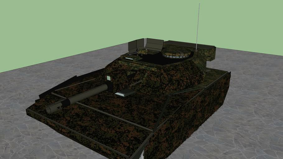 "Panzer 4 ""Too Late"""