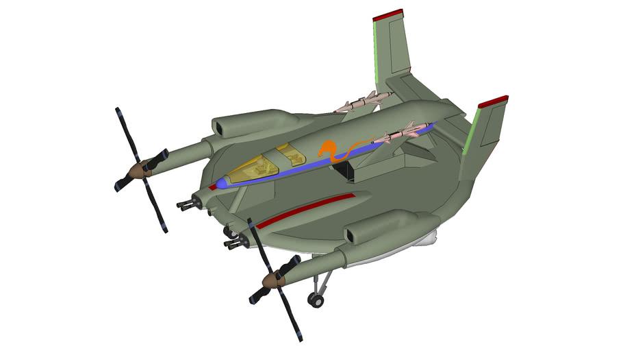 EZ-32 Cobra Attack Fighter