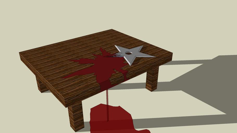 ninja star table