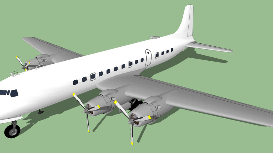 Template - Douglas DC-6 Cloudmaster (Early)