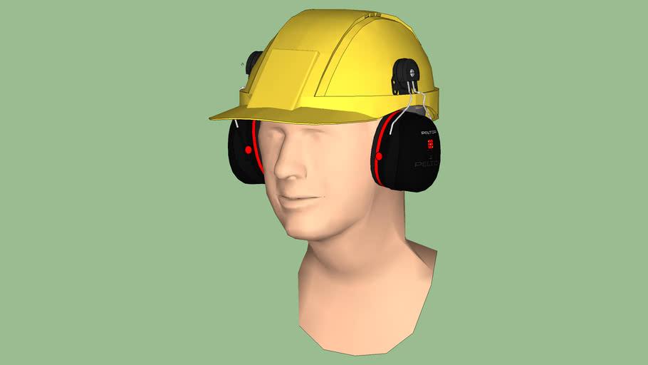 Safety First Series - Hearing Protection - Over-The-Ear (Ear Muff) – Level 3 – Cap Style