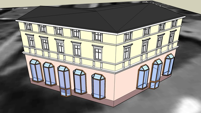 TENEMENT HOUSE ON 72 DWORCOWA STREET IN BYDGOSZCZ