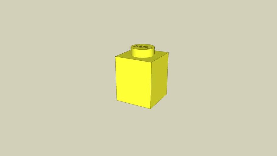 Lego Brick 1x1 Yellow