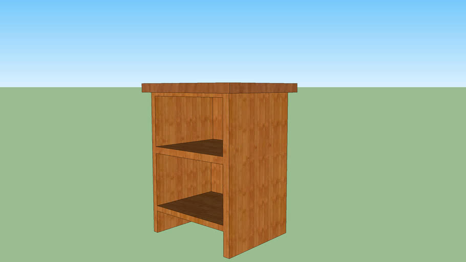 End Table/Shelves