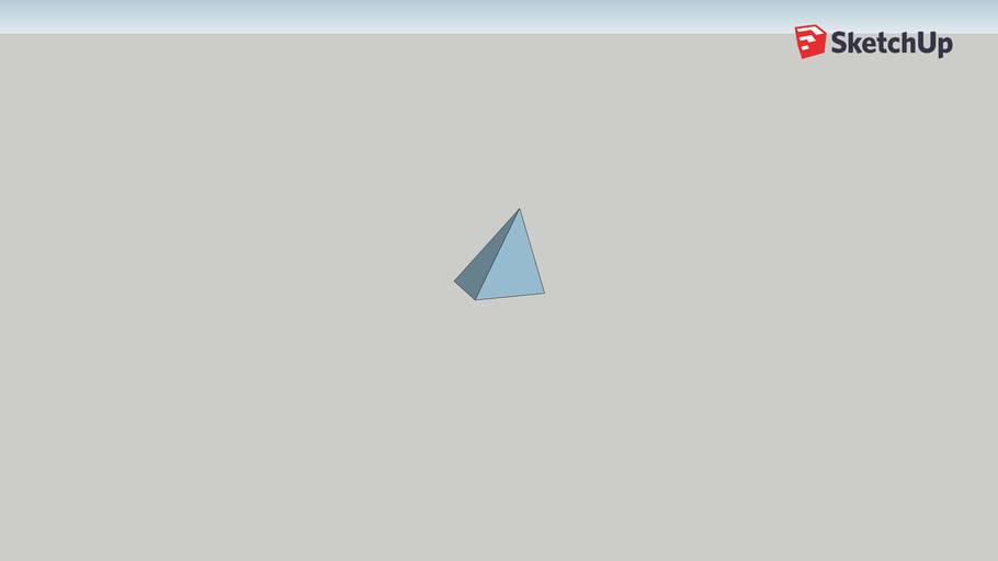a third of a cube